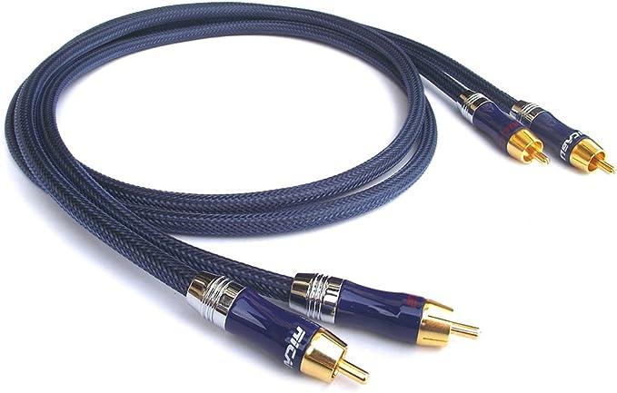 Ricable RU3 Ultimate 2 x 3 m - Hi-Fi Cable Audio Interconexión ...