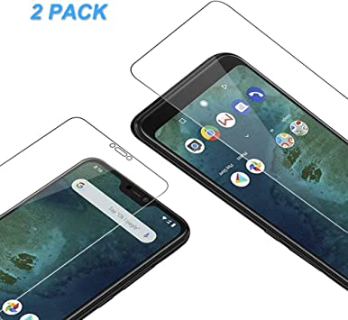 2 unidades] Protector De Pantalla Xiaomi Mi A2 Lite, Vkaiy Ultra ...