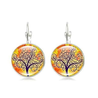 Tree Of Life Dangle EarringsSweet Autumn Birthday Gift For Women Girl Friend Amazonca Jewelry
