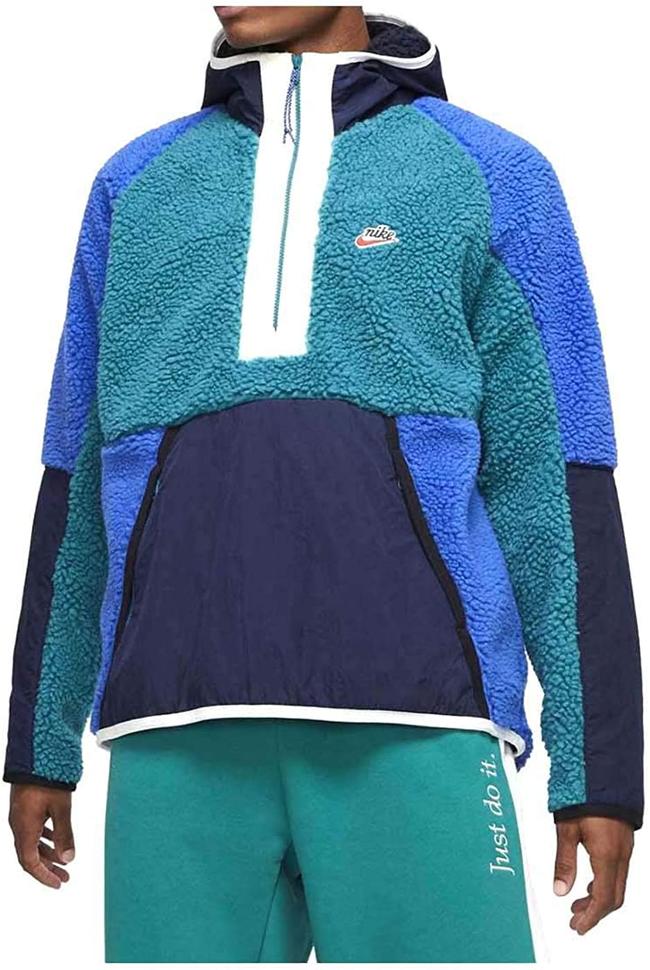 Nike Sudadera Capucha Sportswear He Hoodie Hz Winter Verde XL (X ...