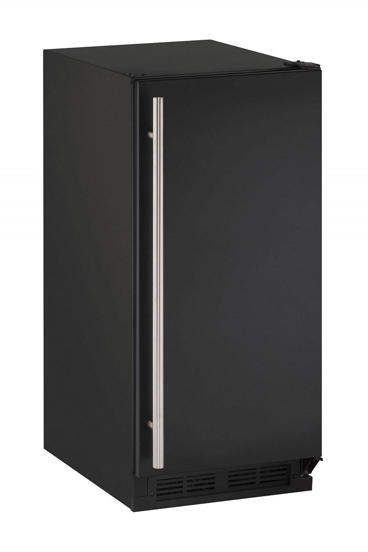 U-Line U1215RB00B 2.9 cu. ft. Built-in/Freestanding Compact Refrigerator, Black