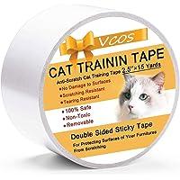 Doppelseitiges Katzen-Kratzband für Tür, Boden, Couch Möbel, Oberflächen, Kratzschutz, 6,3 cm x 4,5 m