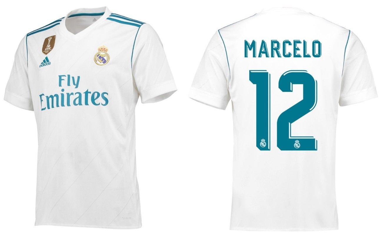 Trikot Kinder Real Madrid 2017-2018 Home WC - Marcelo 12