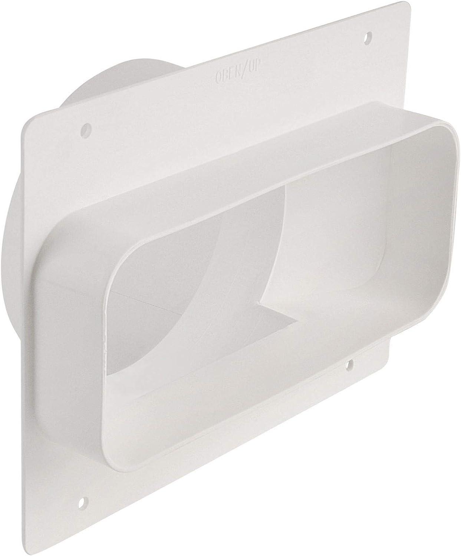 OptimAiro 568857 - Toma de pared (222 x 89 mm, diámetro 150 mm): Amazon.es: Grandes electrodomésticos