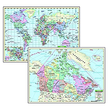 Amazon Com Kappa Map Group Universal Maps Political Maps Canada