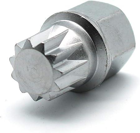 VW Volkswagen Audi Wheel Lock Key 13 Pointed Spline Style ABC 2 OEM Used