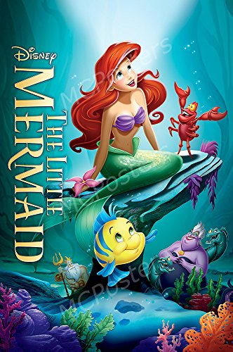 MCPosters Disney The Little Mermaid GLOSSY FINISH Movie Poster - MCP371 (24