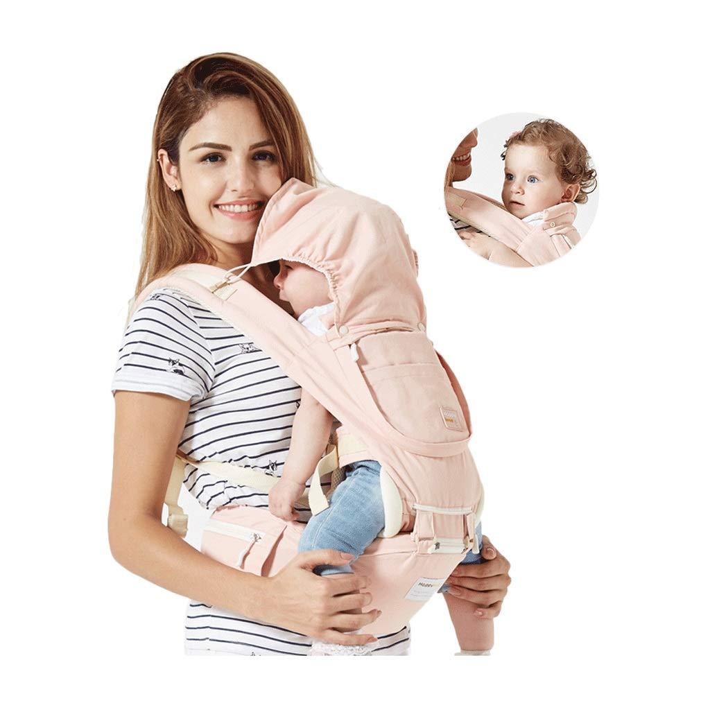 Babytrage Umarmung Multifunktion Atmungsaktives Baby, das auf dem Größenhocker sitzt Für den Sommer Abnehmbarer und unabhängiger Gebrauch (Farbe   A)