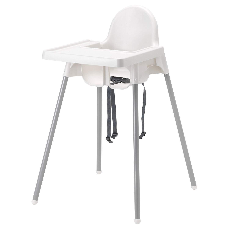 IKEA - Trona con bandeja, cinturón de seguridad, color ...