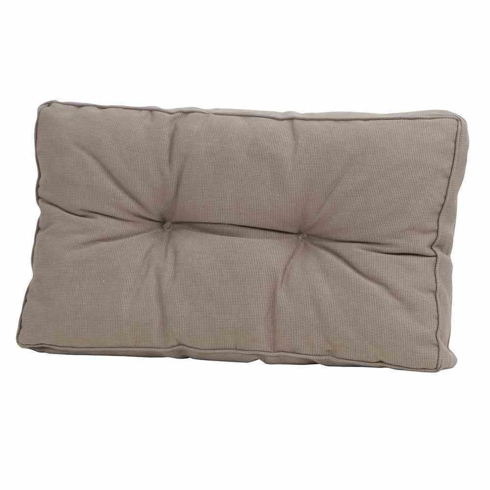 Madison 6 Stück Loungekissen, 73 x 43 cm, Universal-Rückenkissen für Gartenmöbel, 100% Polyacryl, in Rib Liver