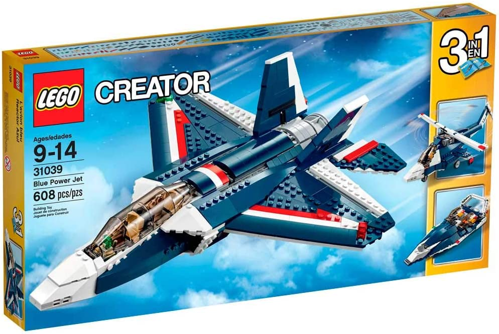 Lego Creator Blue Power Jet 31039