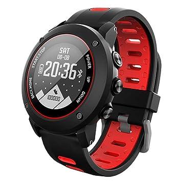STEAM PANDA Relojes Inteligentes Ejercicio al Aire Libre Monitor de Ritmo cardíaco 100 m Impermeable GPS + BDS + GLONASS Sensor de 6 Ejes/Compás/Barómetro ...