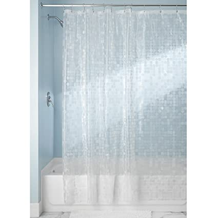 Amazon.com: InterDesign Gigi Decorative Shower Liner, 72 x 72-Inch ...