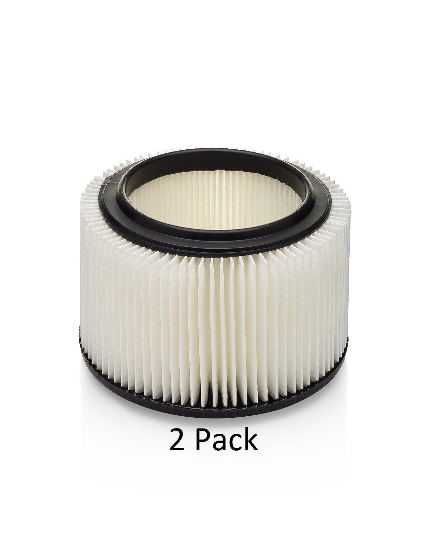 Kopach Replacement Filter for Vacmaster Shop Vacs, Part # VFCF, 2 Pack, Original Kopach Filter