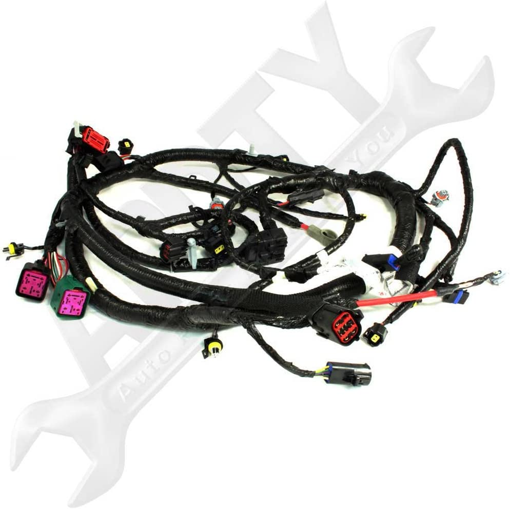 Amazon.com: OE Ford 5C3Z12B637BA 6.0L sel Engine Wire ... on suspension harness, dodge sprinter engine harness, engine harmonic balancer, oem engine wire harness, engine control module, hoist harness, bmw 2 8 engine wire harness,