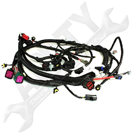 61eguKmQuWL._SY463_ amazon com oe ford 5c3z12b637ba 6 0l diesel engine wire wiring Ford Wiring Harness Kits at sewacar.co