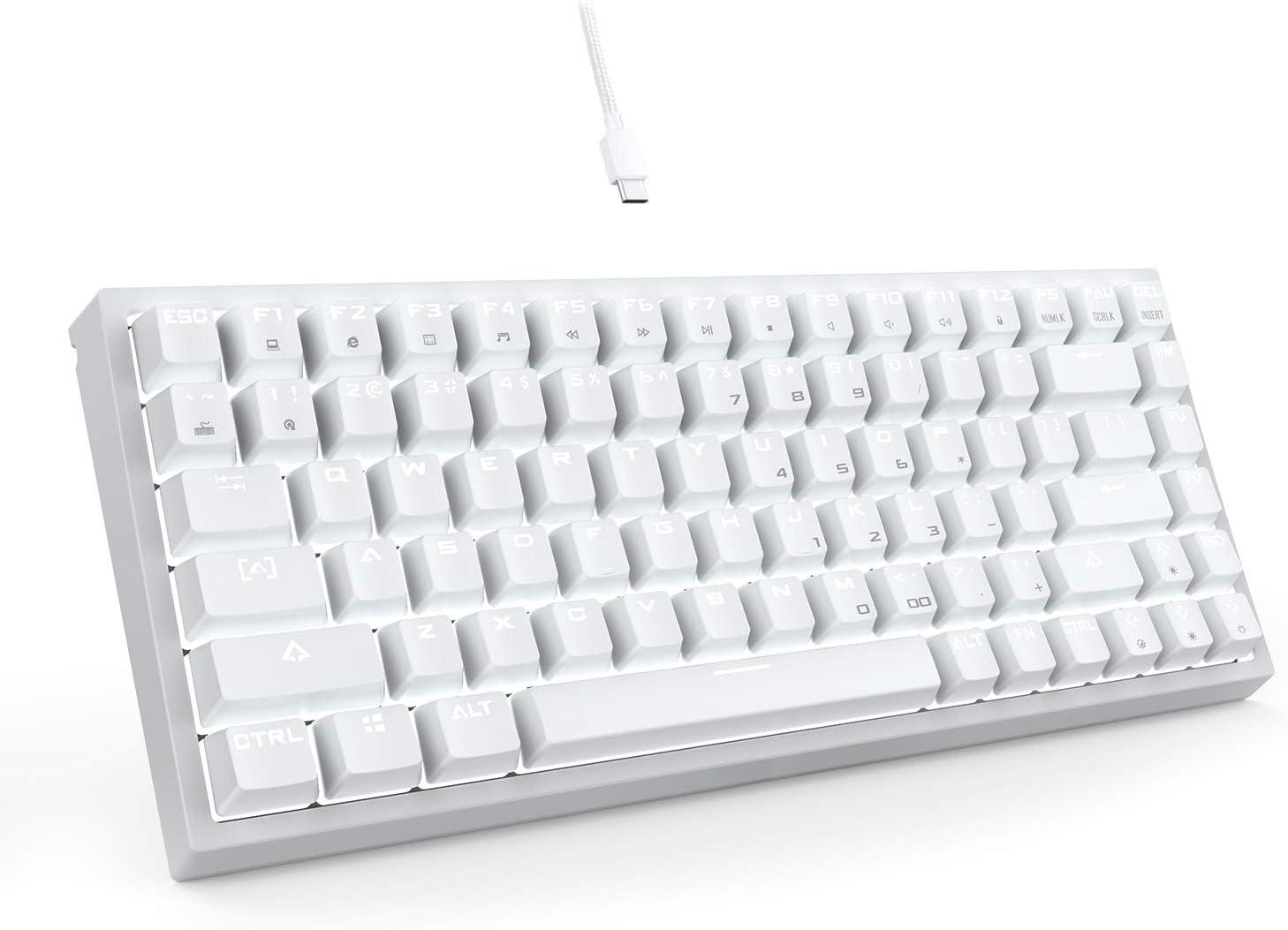 Amazon.com: DREVO Gramr 84 Key 75% TKL Mechanical Gaming Keyboard ...