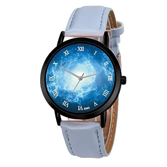 Reloj Digital Hombre 2019 Cuero PU Acero Inoxidable ...