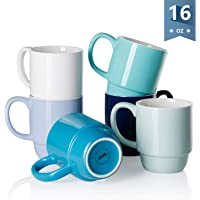Sweese stackable coffee mug,set of 6