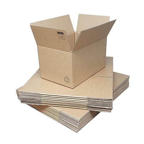 Amazon.com: Cajas de Cartón de Doble Pared – 457 x 305 x 254 ...