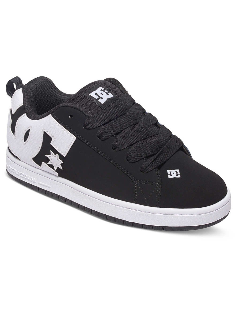 DC Shoes Herren Court Graffik Skateboardschuhe  55 EU|Schwarz (Black 001)