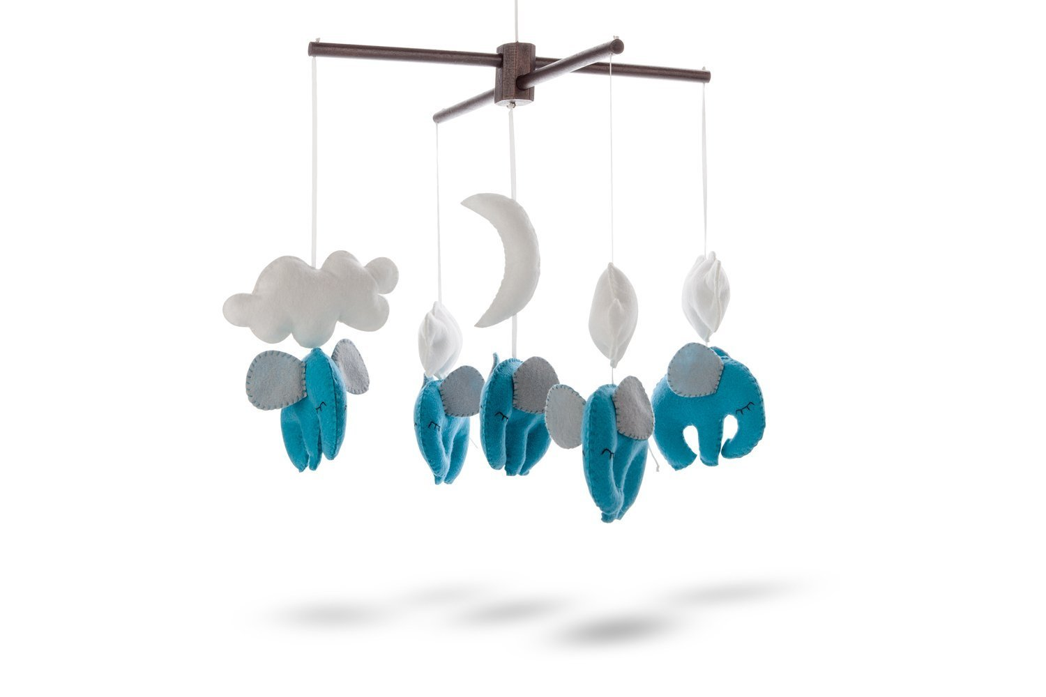 Marmelada Dreaming Elephants Mobile Blue Nursery Baby Room Bedtime Night Décor Marmelada Kids ltd 1328