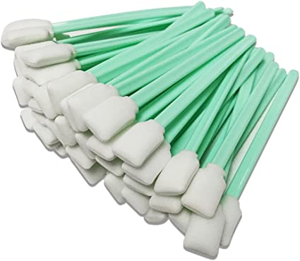Print Head Cleaning Stick Cleaning Swabs Foam Tip for Mutoh Roland Mimaki 50pcs