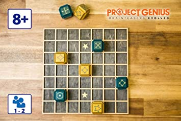 LOGICA GIOCHI, Art. Deblockle – Juego de Mesa estratégico en 3D – Juego de Madera para 2 Jugadores: Amazon.es: Juguetes y juegos