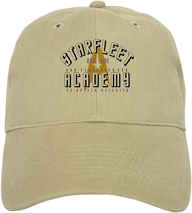 276cc76f800 CafePress - Starfleet Academy Star Trek Original - Baseball Cap with  Adjustable Closure