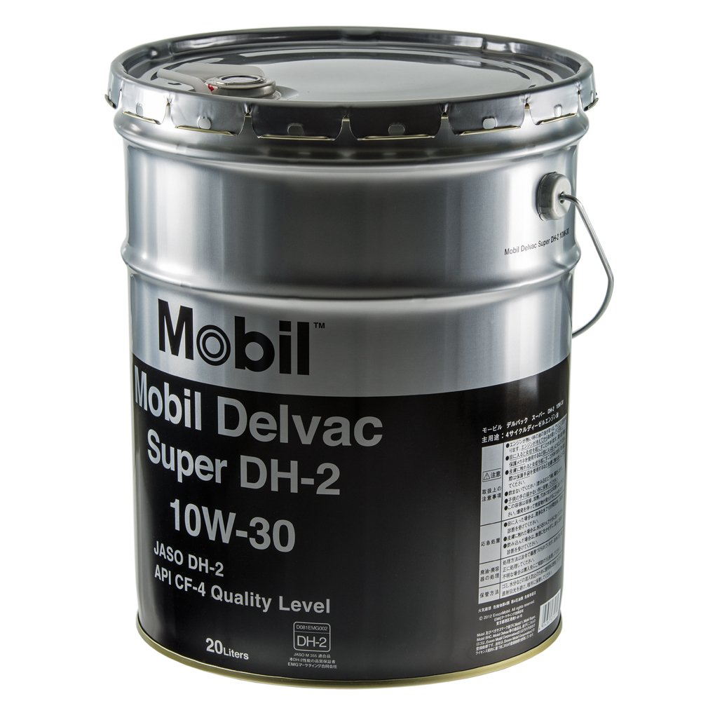 Mobil エンジンオイル デルバック スーパー DH-2 10W-30 DH-2/CF-4 20L B00FMVDR7K