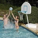 Dunn Rite JuniorHoop Portable Pool Basketball Hoop Set