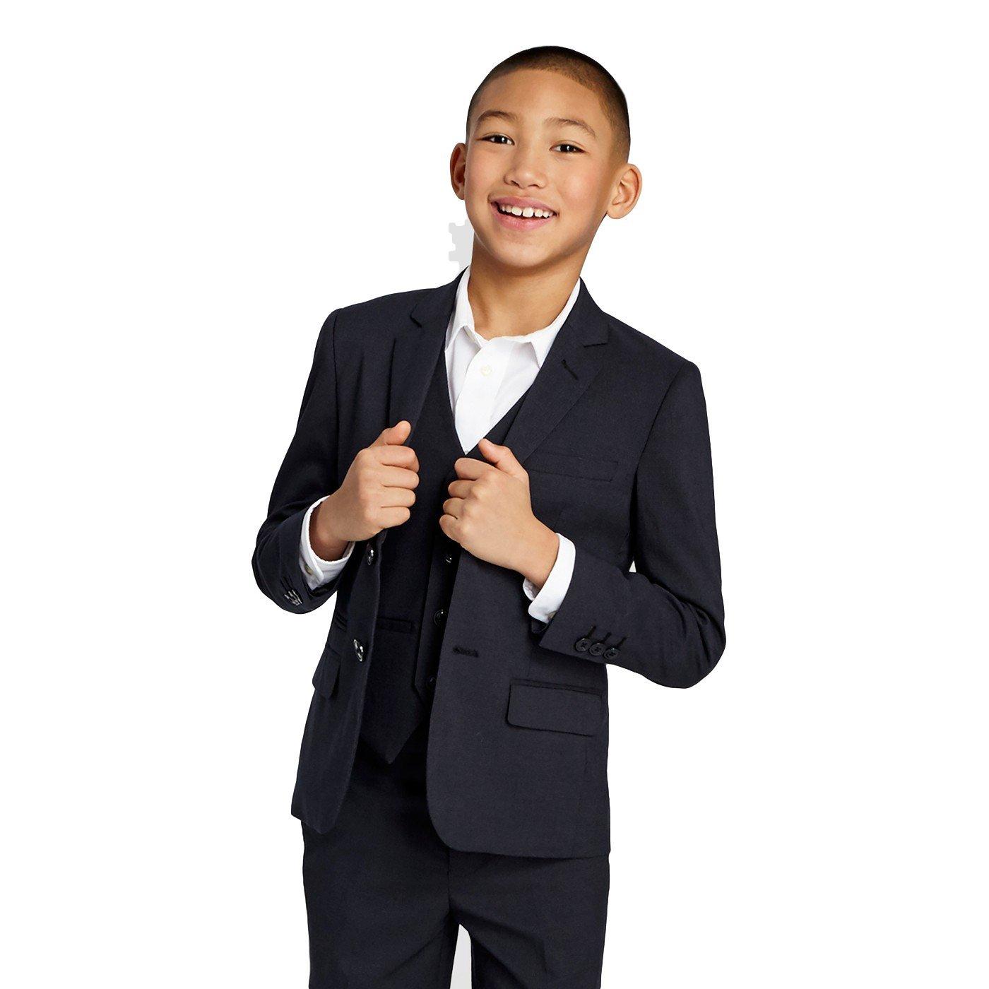 WD.NY Black Boys' Blazer Size 20