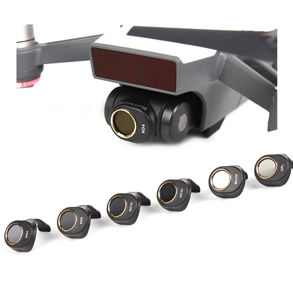 gouduoduo2018 SPARKレンズフィルター DJI SPARKドローン用  G-UV DN4 DN8 DN16 ND32 CPL B074N5ZHMN