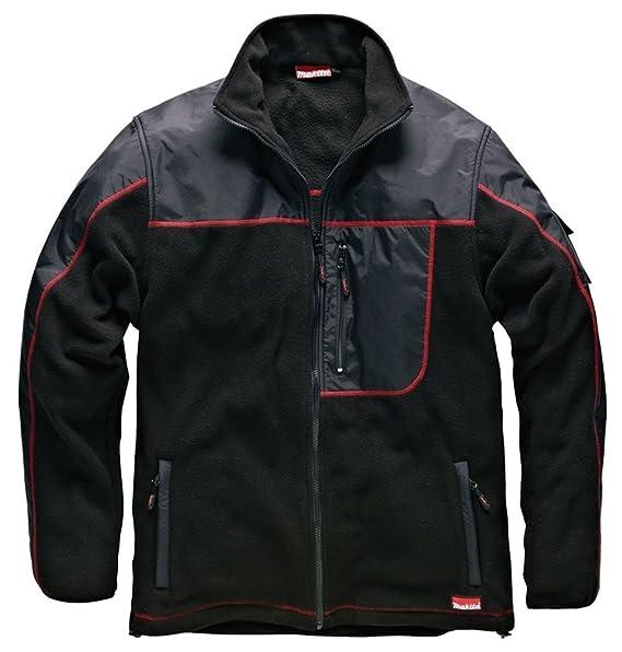 6b9d753ad Mens Makita Heavyweight Warm AVT Fleece Jacket Coat Anti Piling ...