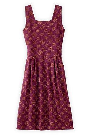 64560b046f2 Fair Indigo Fair Trade Organic Sleeveless Square Neck Dress at ...