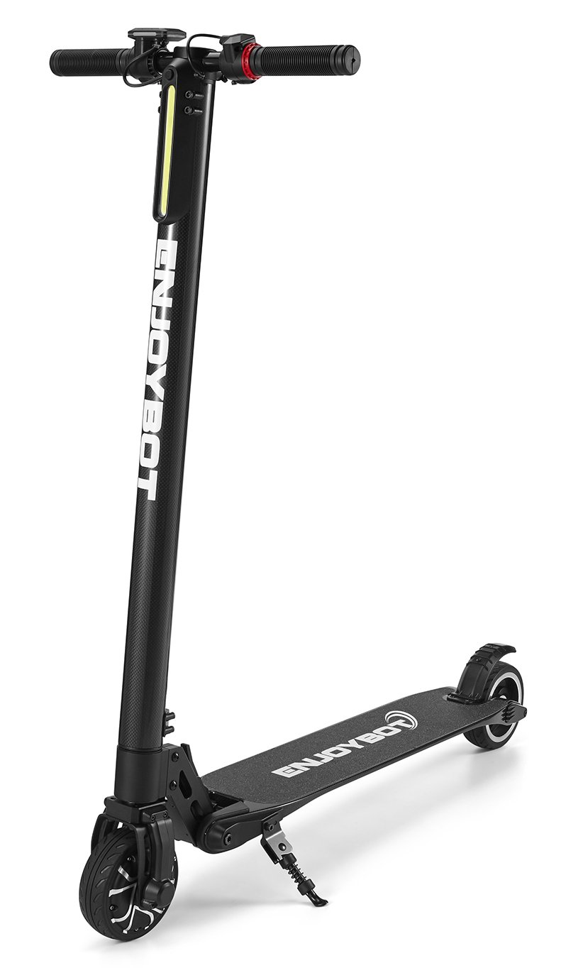 Enjoybot Electric Scooter 15lbs Foldable Carbon Fiber 16MPH and 8miles Range for Kids and Adults