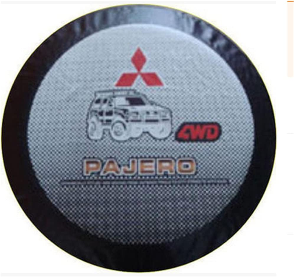 Car Styling Car Spare Wheel Cover Spare Tire Cover For Pajero V73 V77 V93 Spare Tire Cover Custom Off-Road 16 Inch