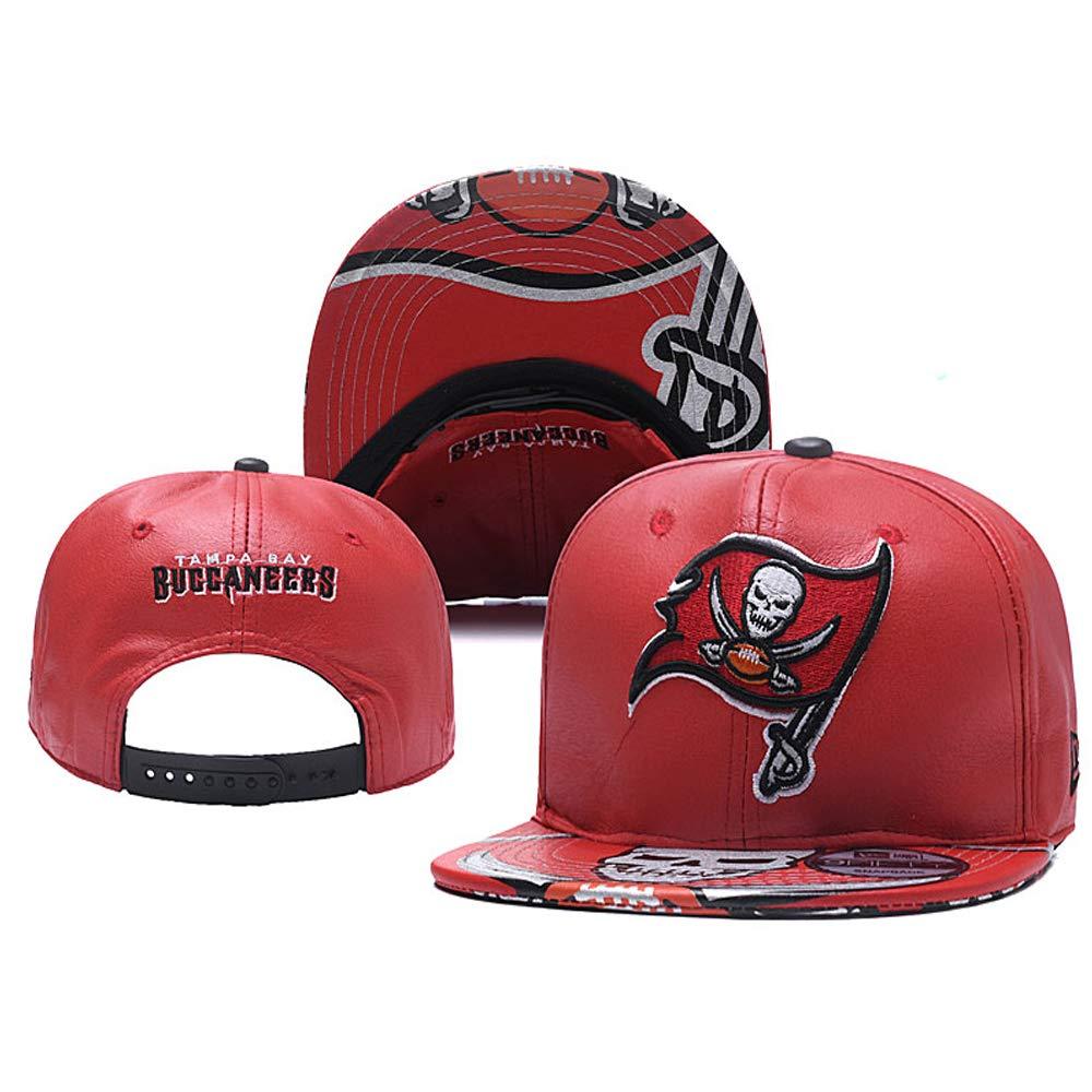American Football Team Adjustable Unisex-Adult Sport Flat Cap and Huset Keep Warm Cuff Knit Hat
