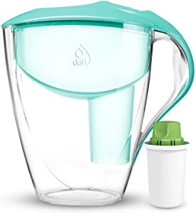 Dafi Astra Filtering Water Pitcher 12 Cup Made in Europe BPA-Free (Mint)
