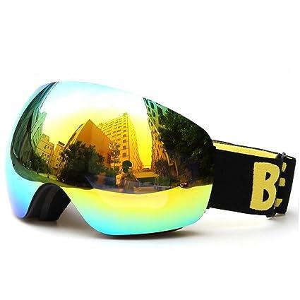 c3cd04a31146 Benice Polarized Ski Goggles Men Skiing Glasses Women 100% UV400 Anti-burst  Double Anti