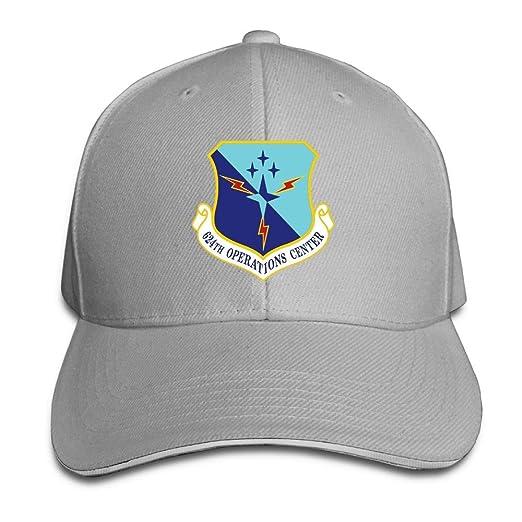 Amazon.com  United States Air Force 624th Operations Center Classic  Adjustable Plain Baseball Cap Hat Men Women  Clothing e23bd95084