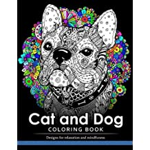 Cat And Dog Coloring Book The Best Friend Animal For Puppy Kitten Adult Lover