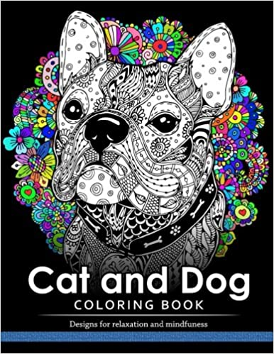 Amazon.com: Cat and Dog Coloring Book: The best friend animal for ...