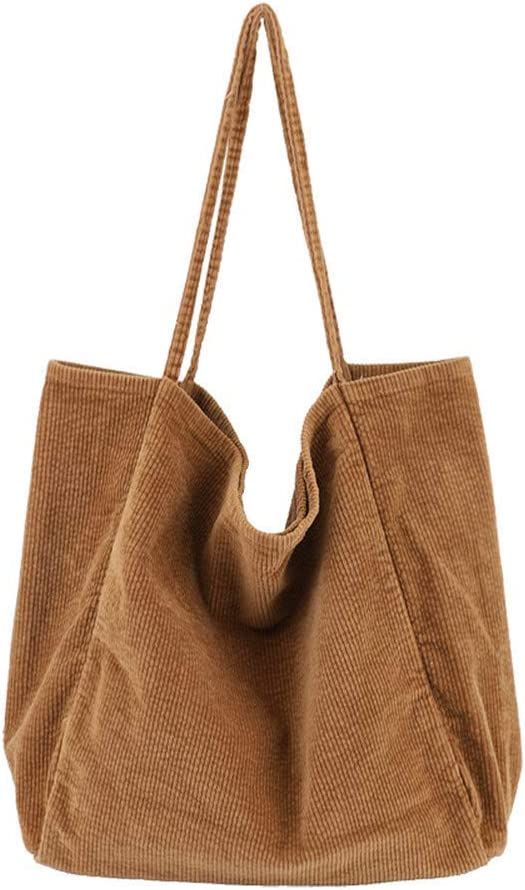 Leopard Women Shoulder Bags Corduroy Tote Bag Handbag Work Bags Schoolbag Large Hobo Handbag top handle bag