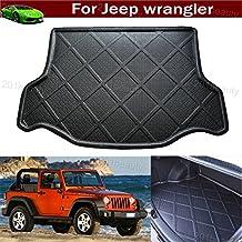 New Car Boot Mat Carpet Cargo Mat Cargo Liner Cargo Cover Rear Trunk Liner Tray Floor Mat For Jeep Wrangler 2007 2008 2009 2010 2011 2012 2013 2014 2015 2016 2017