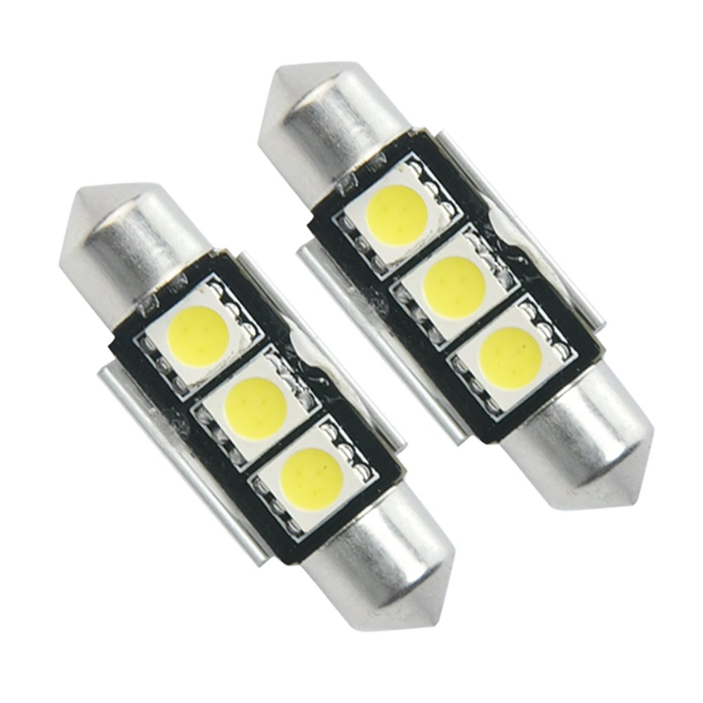 2X 3 SMD LED 36mm Soffitte Canbus Innenraumbeleuchtung Lampe 12V Sofitte Weiß Des Mall