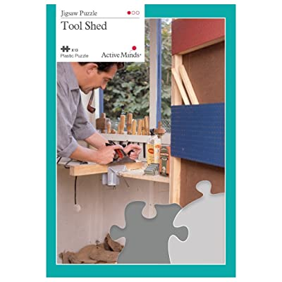 Active Minds 13 Piece Tool Shed Jigsaw Puzzle | Specialist Alzheimer's/Dementia Activities & Games: Health & Personal Care