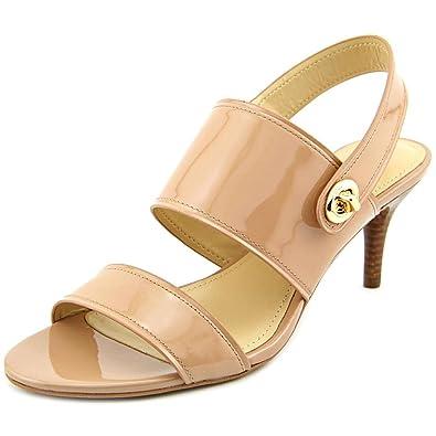 8f68d8ea4f9 Coach Women s Marla Patent Slingback Sandals Warm Blush ...