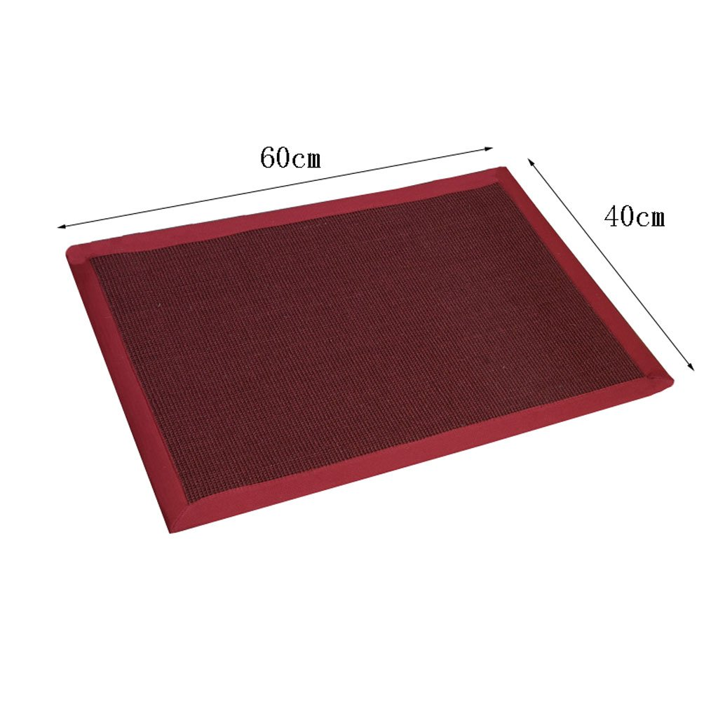 HIGH Sisal Mat Door Stepping Mat Entrance Mat Linen Door Mats Wear-Resistant Straw Carpet Balcony Mat