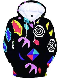 Stranger Things Hoodie Girls Kids Season 3 3D Galaxy Printed Sweatshirt Unisex Teenager Boys Upside Down Jumper Children Dustin Robin Eleven Pullover Cartoon Sweater Clothes Merchandise